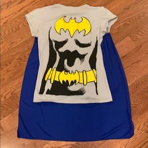 Batman shirt with cape